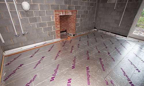 How To Screed A Floor >> Flow Screed Norfolk   Flow screed & underfloor insulation experts